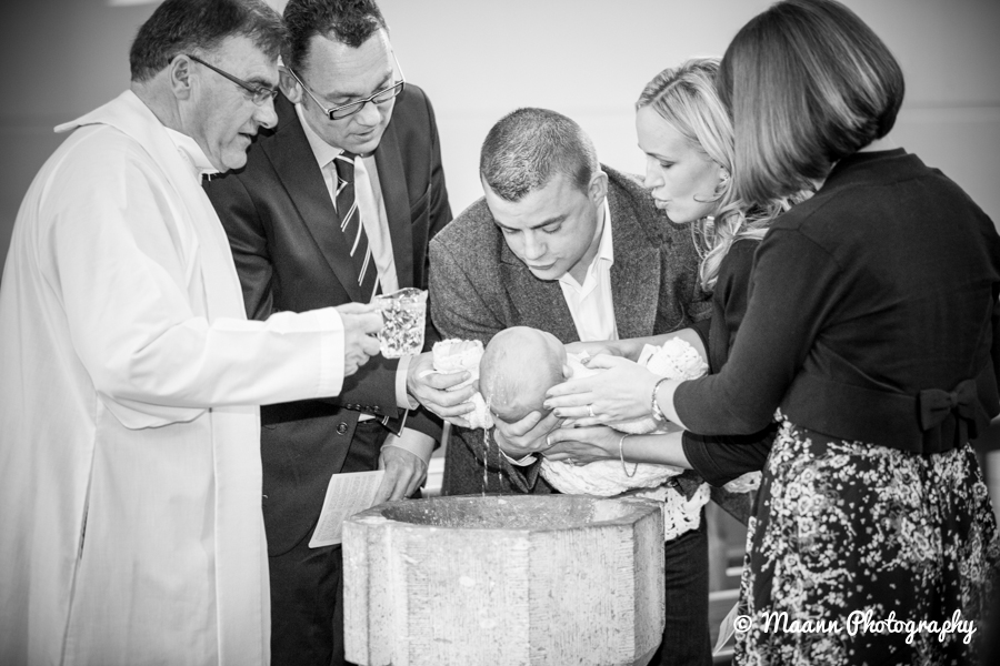 Little Kyle – Christening Photography