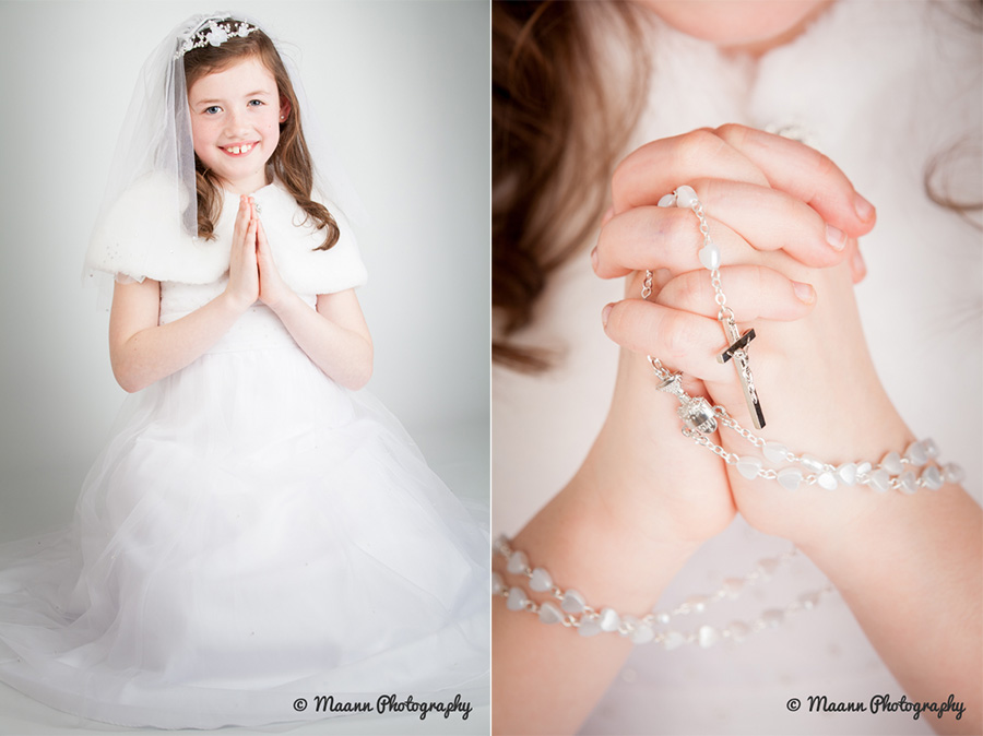 Lucy's First Communion Photography