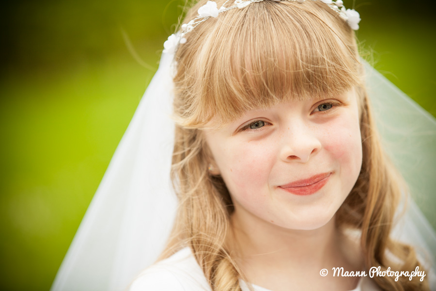Ella's First Communion Photography