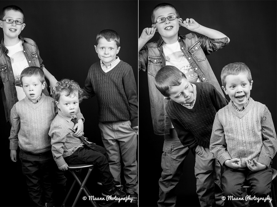 Stephen, Mark, Tommy & Adam – Kids Photography