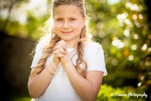 Martyna's first Communion Photography