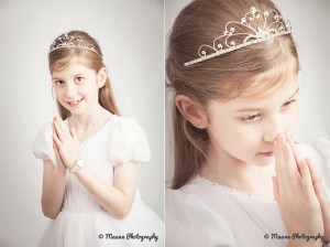 Maedbh's First Communion Photography