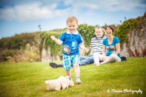 Eanna with Parents – Family Photography