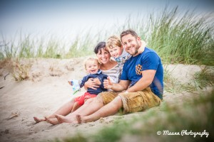 Sam & Ruben – Family Photography on the beach
