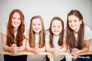 Four Daughters – Family Photography