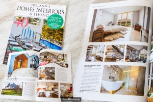 Our images have been featured in Ireland's Homes Interiors & Living (August 2015)