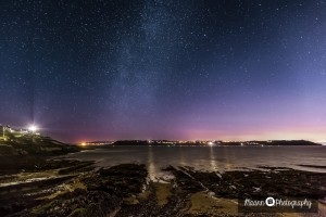 Roches Point at night – Night Sky Photography