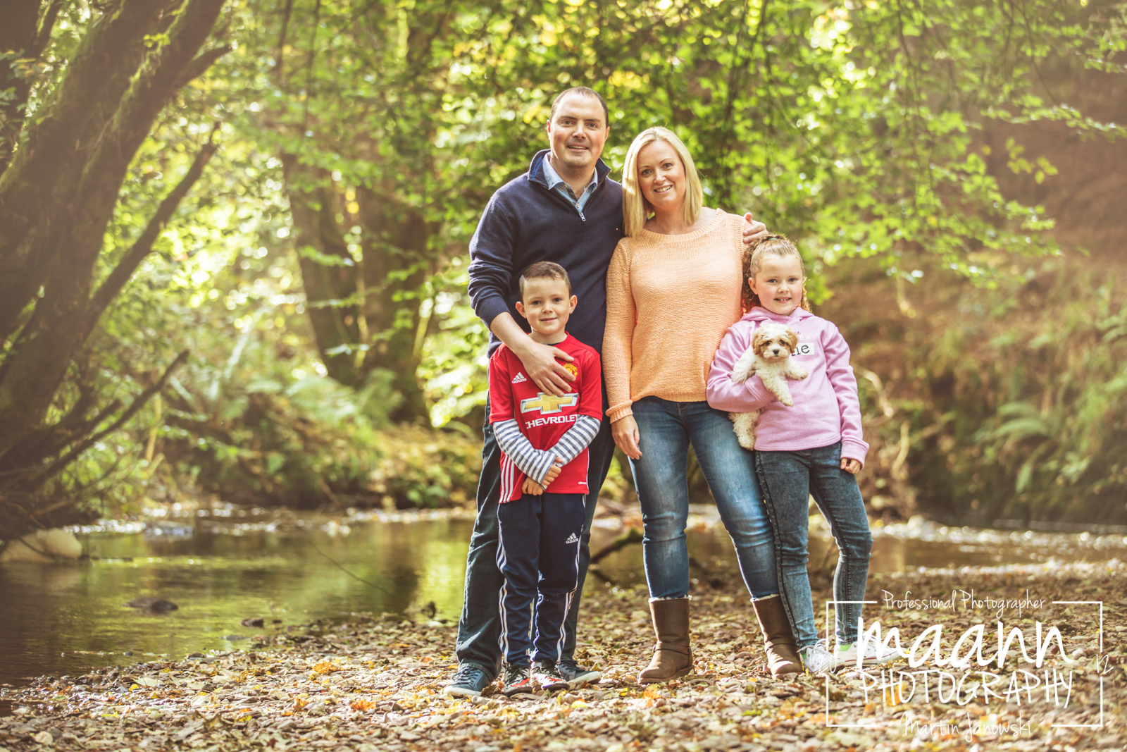 Forest Walk – Family Photography