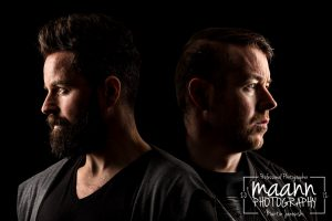 Natural Angle DJ's // Kian MC & Jason Busteed – Portrait Photography