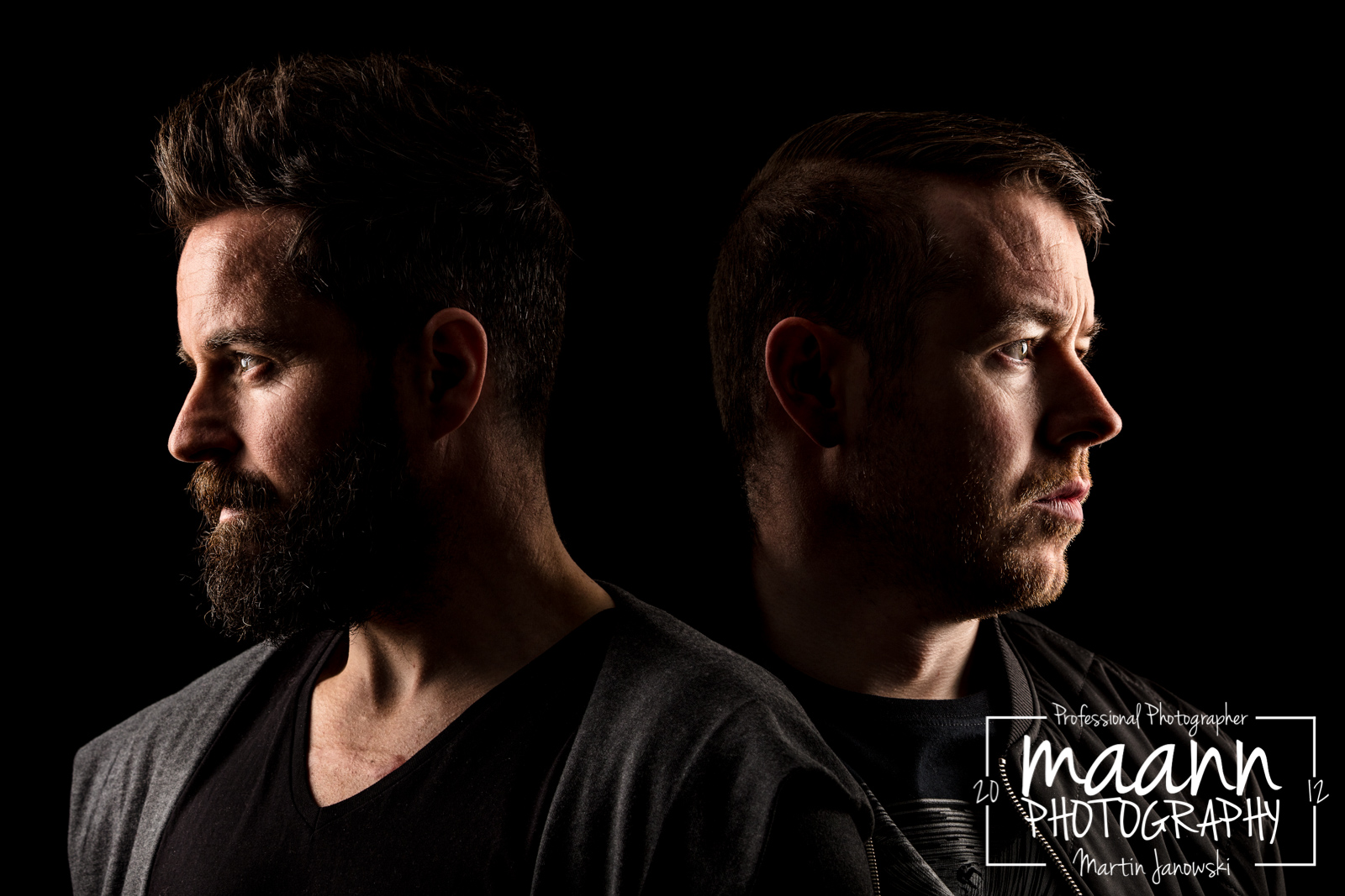 Natural Angle DJ's // Kian MC & Jason Busteed – Portrait Photography