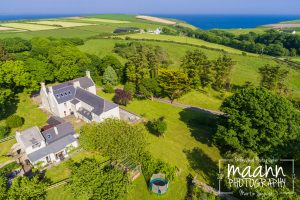 Dunowen House – Architectural Aerial Photography