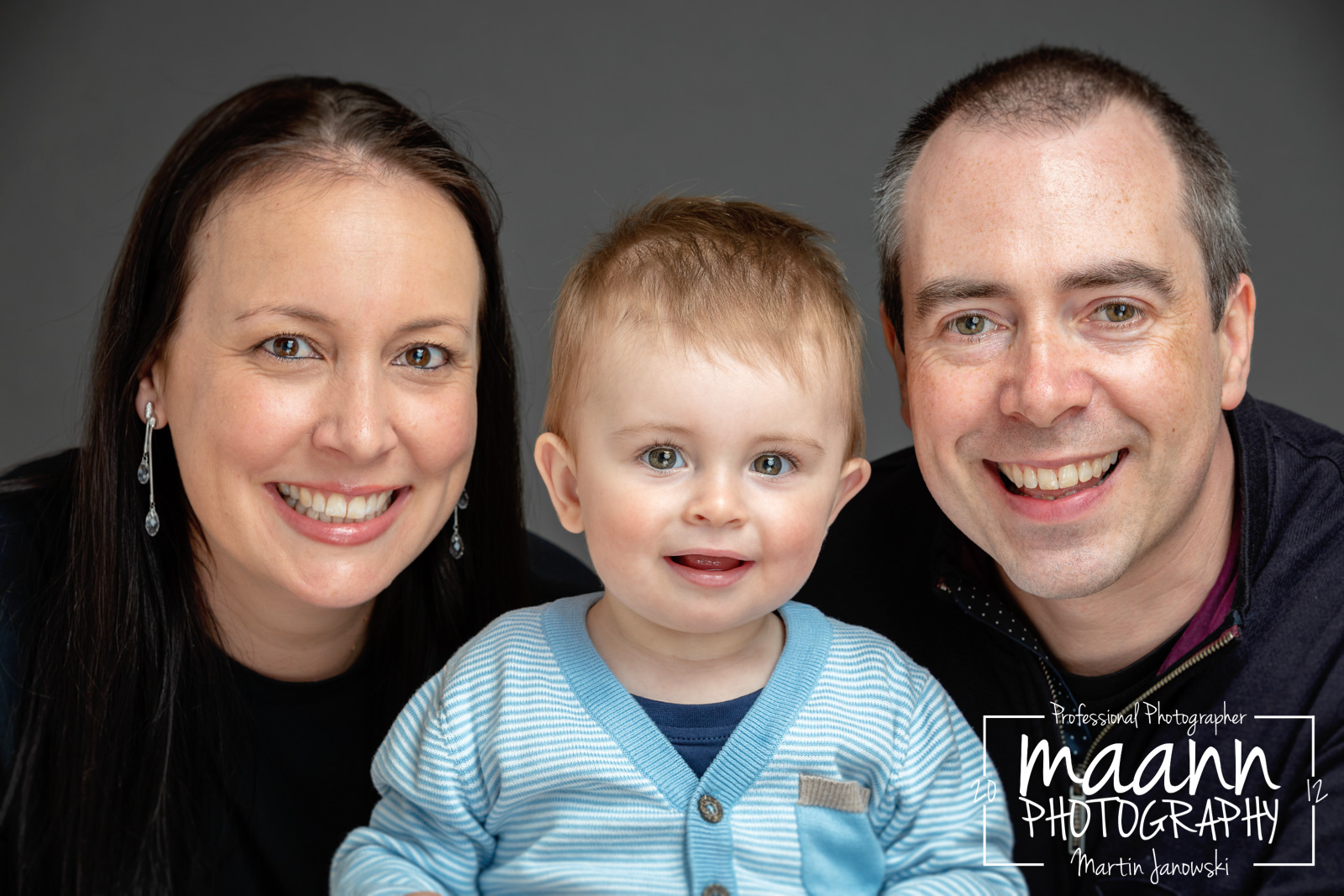 Family Photography – Studio Photo Session