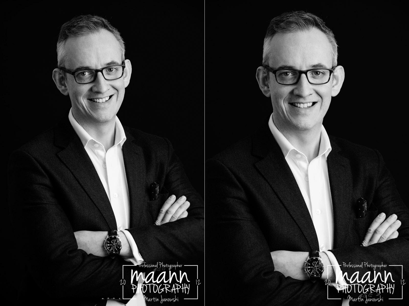 Paul – Portrait | Headshot Photography | B&W Photography
