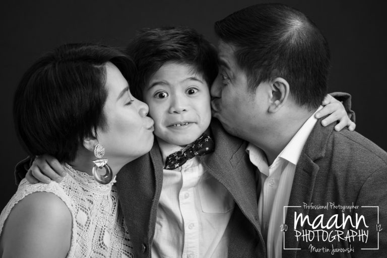 Family Photography in Studio | B&W Photography
