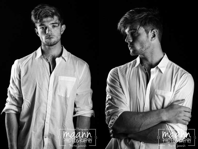 Jack | Male Model Portfolio | Portrait Photography