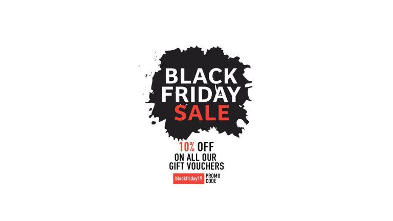 Black Friday Sale 2019 | Gift Voucher Sale 10% Off